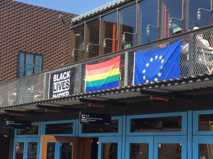 flags young vic